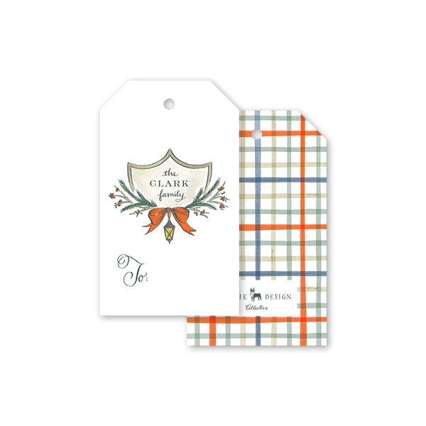 Branching Bittersweet Crest Gift Tags