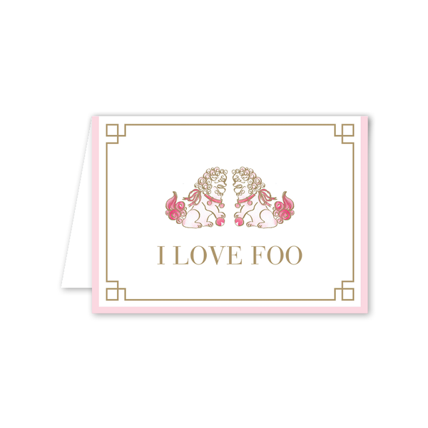 I Love Foo Folded