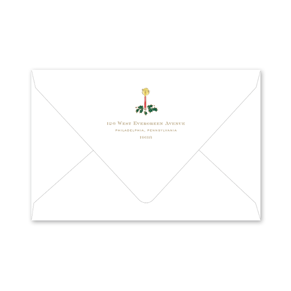 Alpine Angel Invitation Envelopes