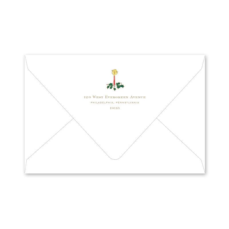 Alpine Angel Border Photo Mount Envelopes