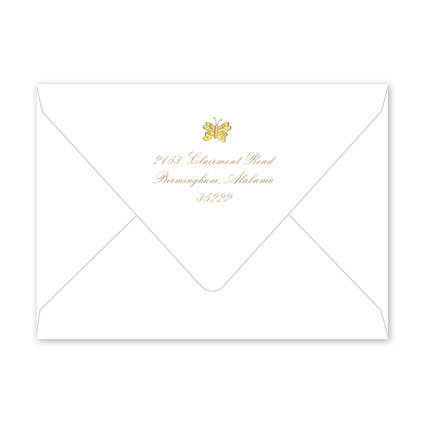 Brook Hill Graduation Photo Announcement Envelopes