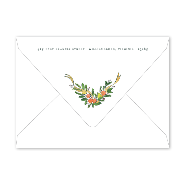 Colonial Citrus Gold Envelopes