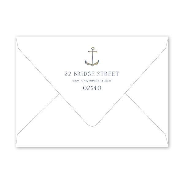 Newport Watercolor Birthday Envelopes