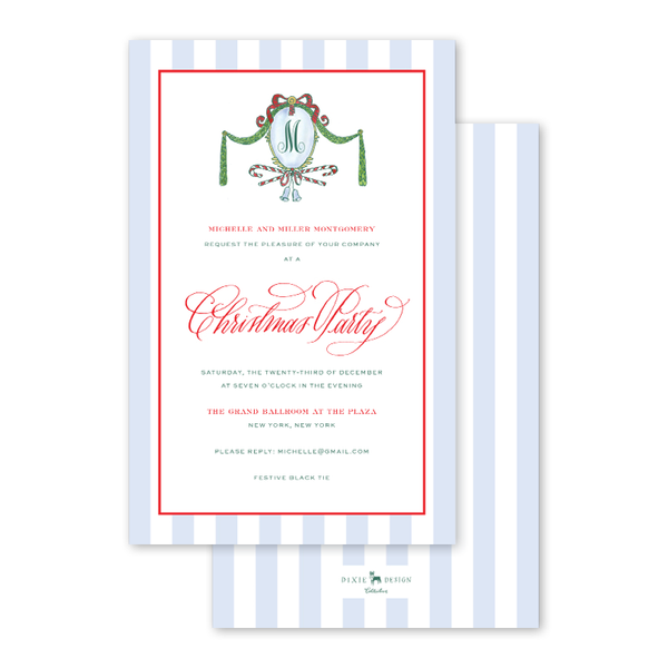 Park Avenue Crest Invitation