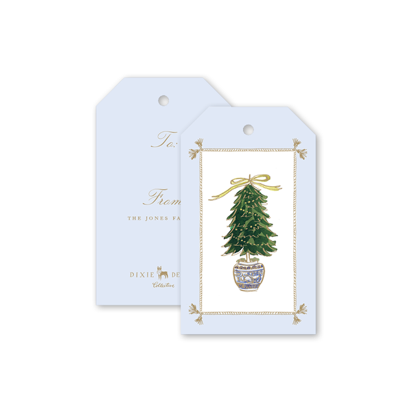 Staffordshire Tree Gift Tags