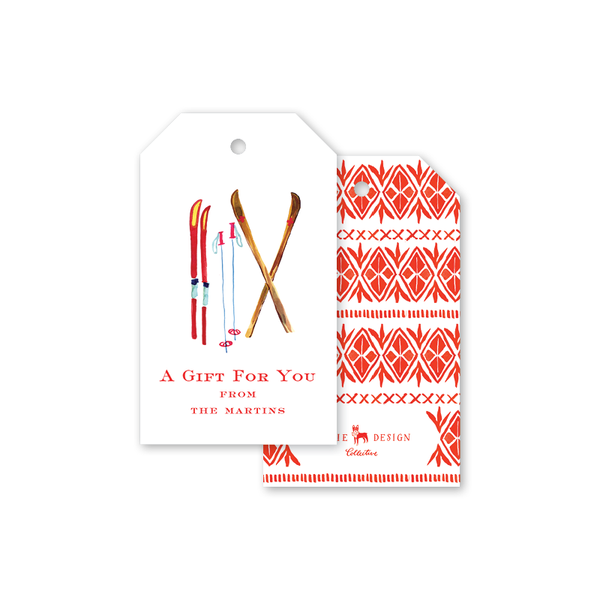 Alpine Sweater Gift Tags