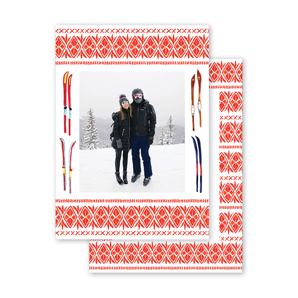 Alpine Sweater Ski Border