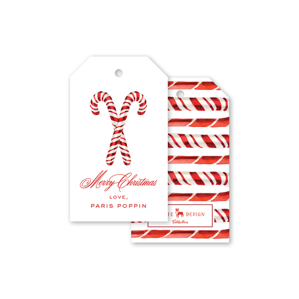 Candy Canes Gift Tags