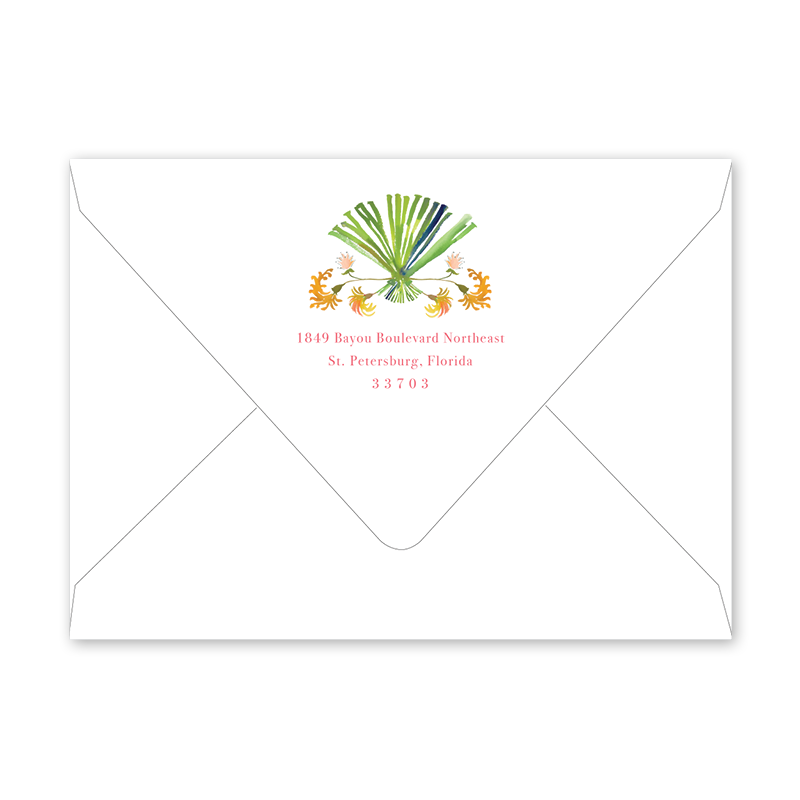 Chintz Exotica Summer Party Envelopes