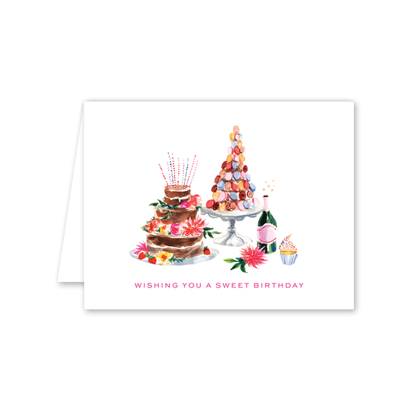 Colorful Fete Birthday Card