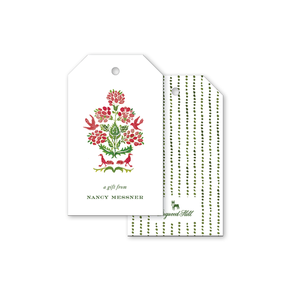Cranberry Mystic Gift Tags