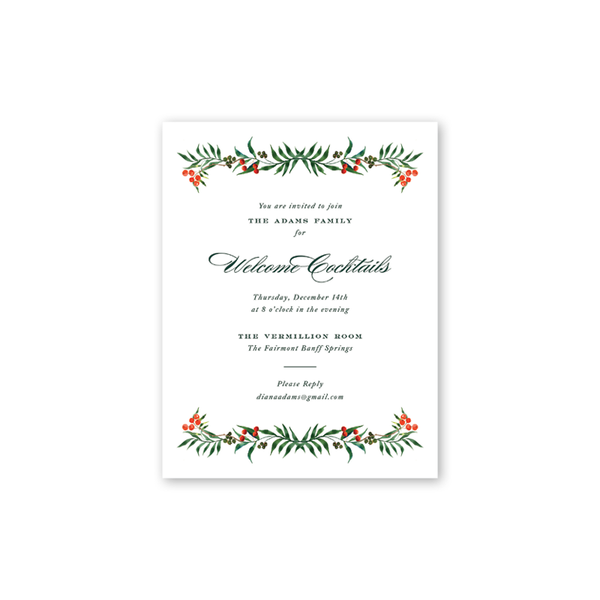Winterberry Details Cards
