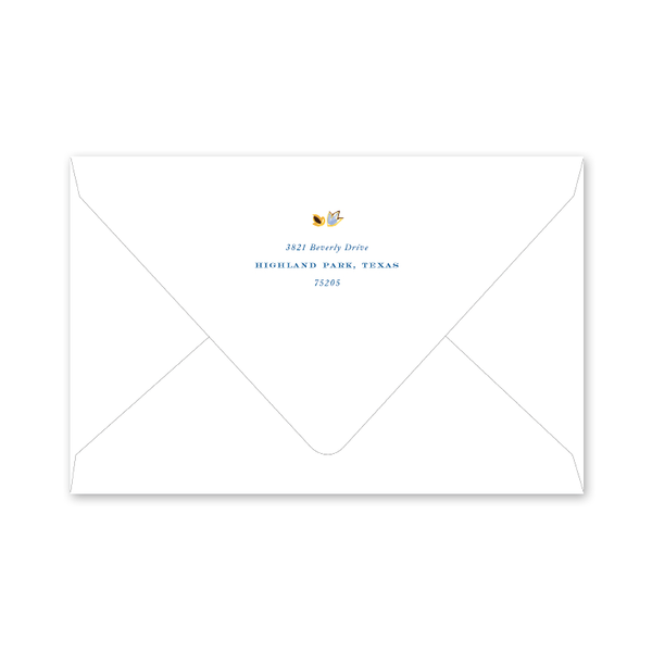 Oushak Hanukkah Photo Mount Envelopes