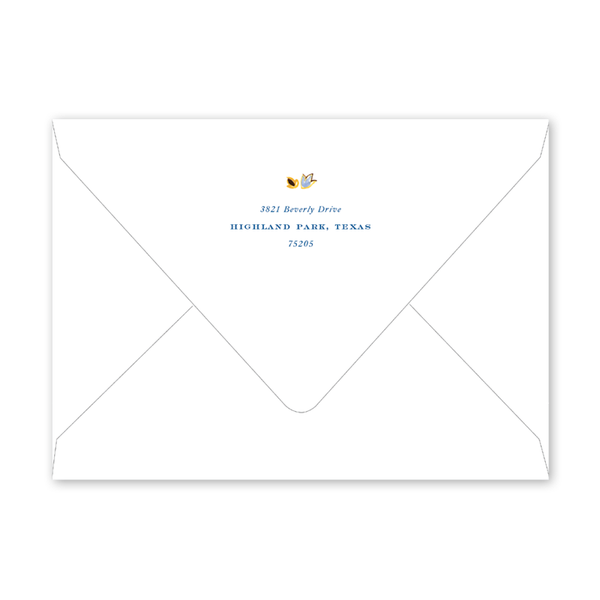 Oushak White Invitation Envelopes