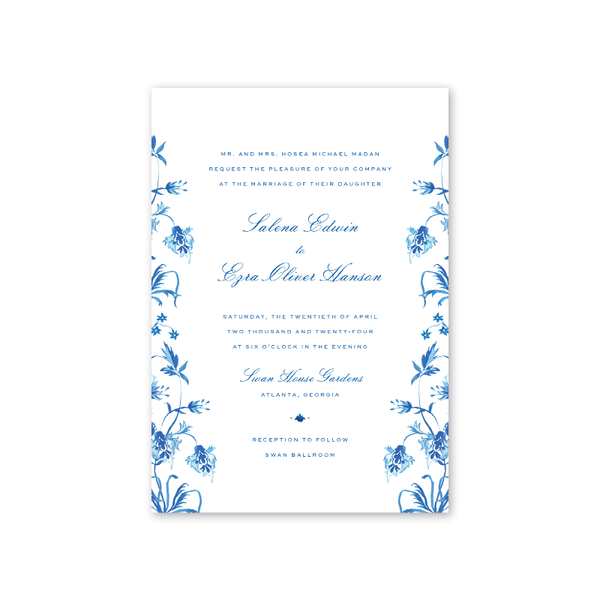 Palladio Floral Wedding Invitation