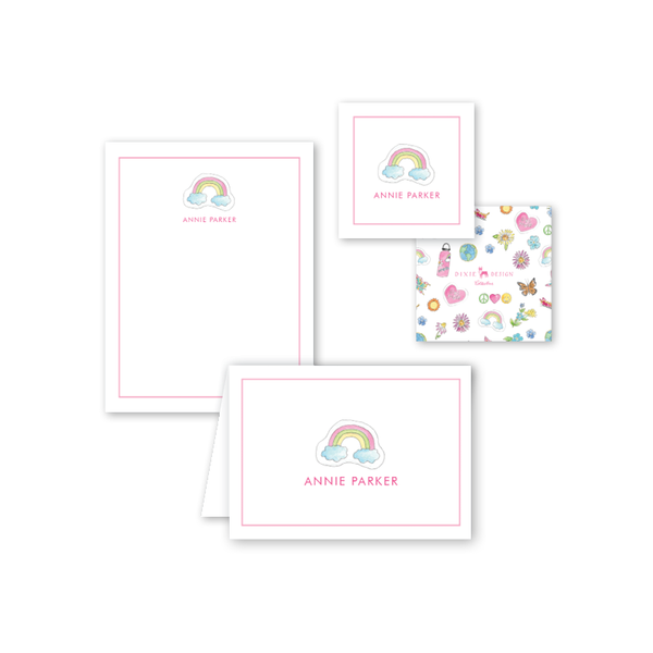 Camp Style Rainbow Gift Set