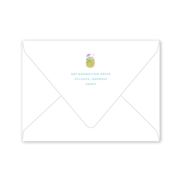 Cabana Summer Party Envelopes