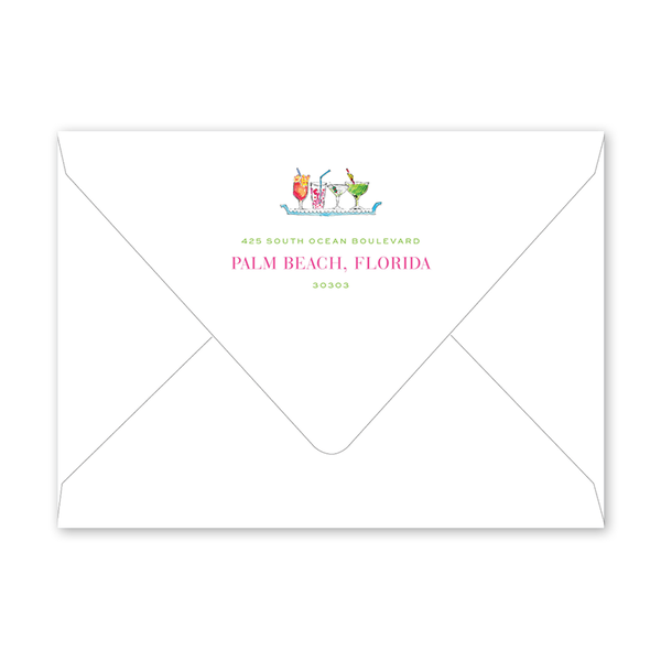 Palm Beach Monkeys Envelopes
