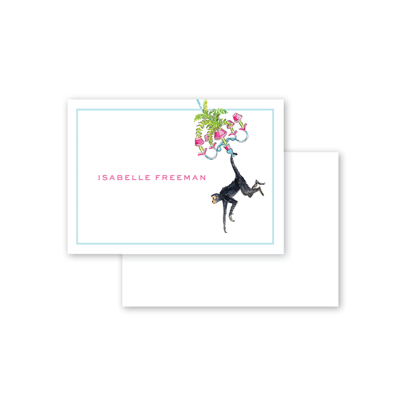 Palm Beach Monkeys Calling Card