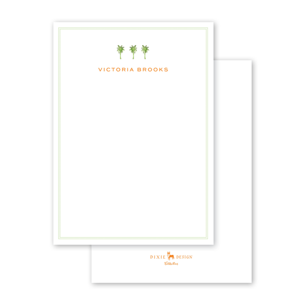 Palm Breeze Trees Notecard