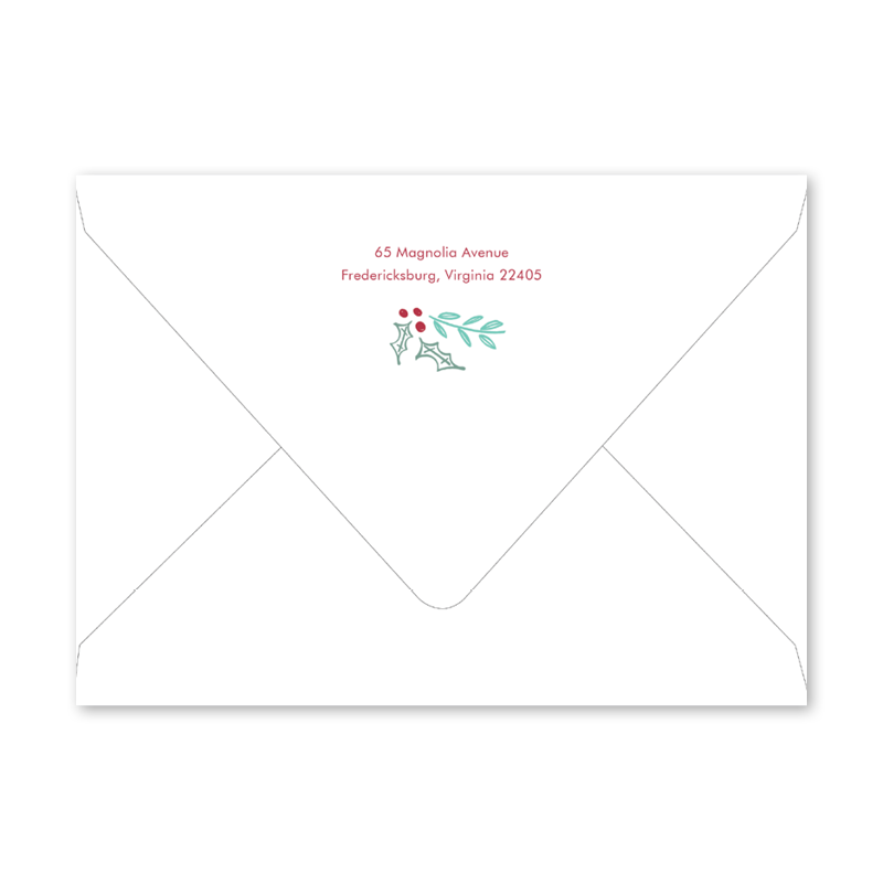 Modern Cheer Envelopes