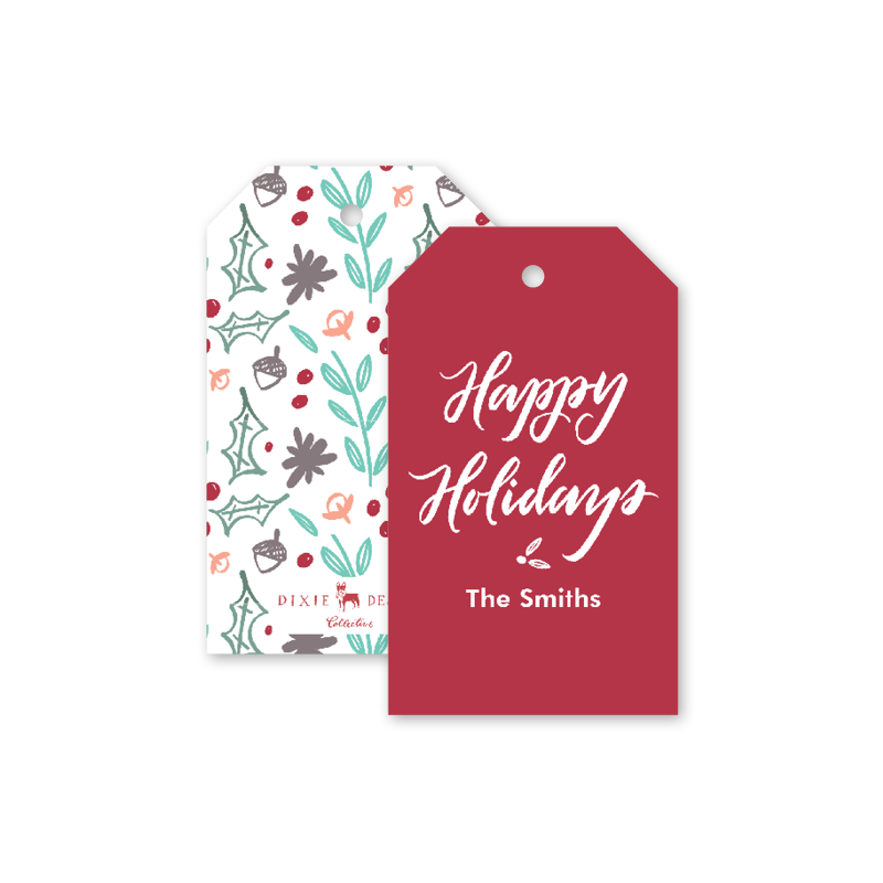 Modern Cheer Gift Tags
