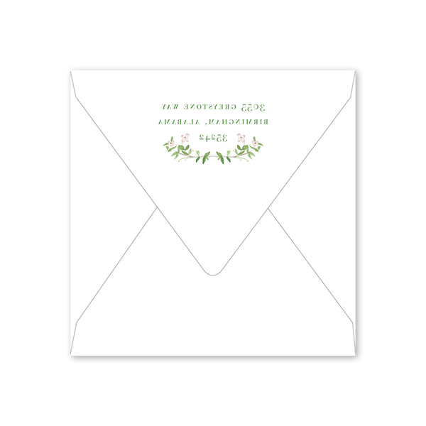 Dogwood Bridal Tea Envelopes