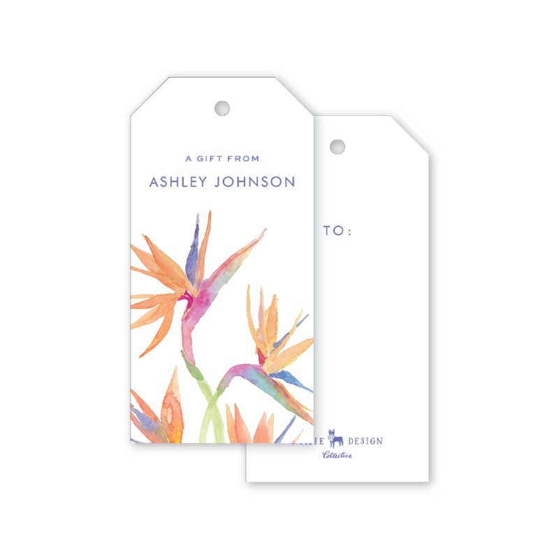 Birds of Paradise Gift Tags