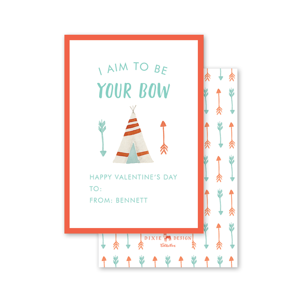 Bow and Arrow Valentine