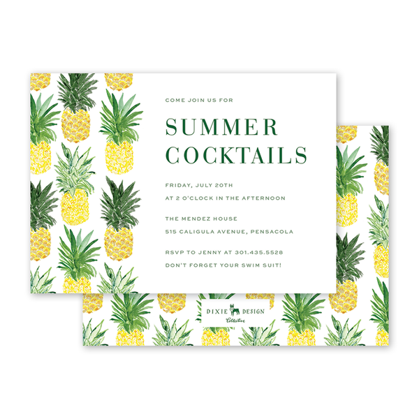 Pineapples Cocktail Party