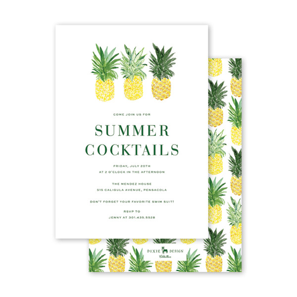Pineapples Summer Party