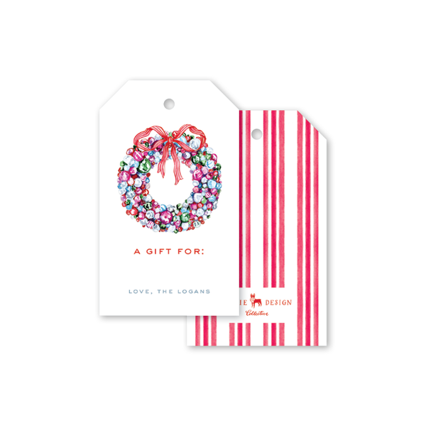 Baubles and Tinsel Gift Tags