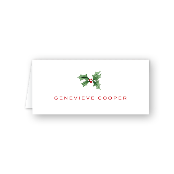 Berry Merry Place Card