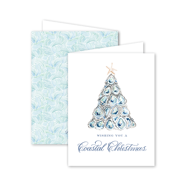Coastal Christmas Folded