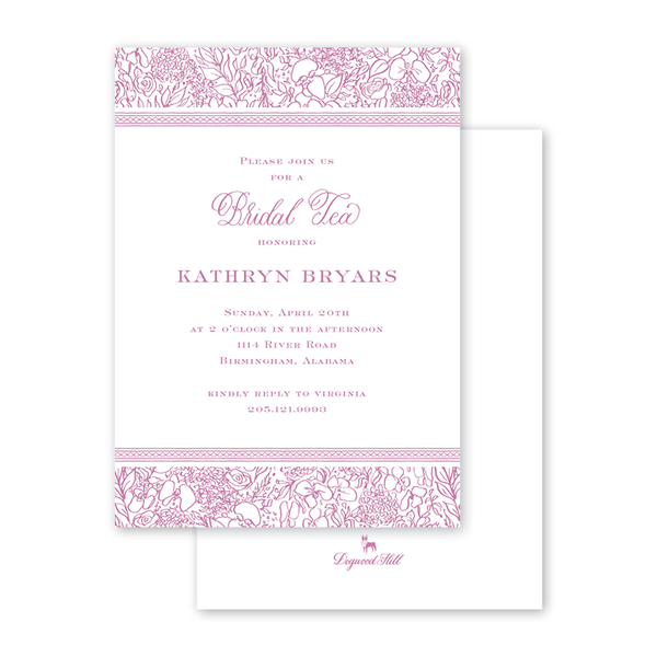Dolly Blooms Bridal Tea