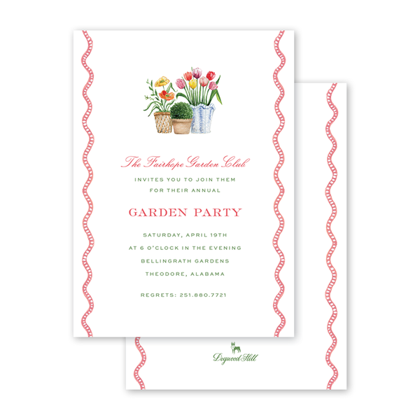 Flower Cart Garden Party