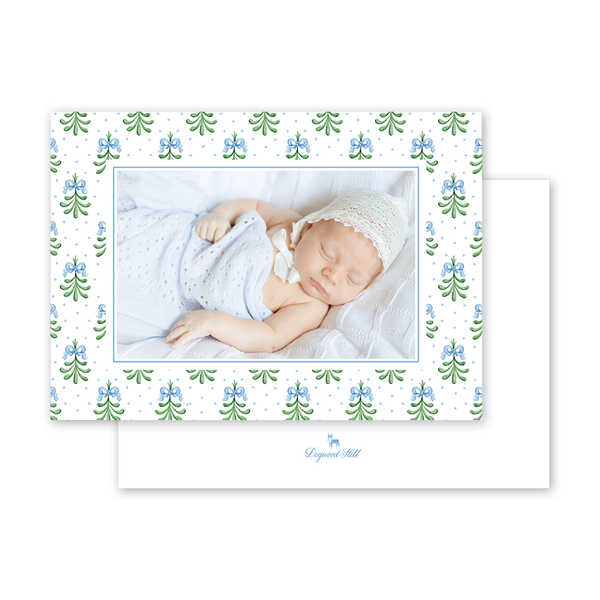 Mistleberry Birth Announcement Landscape