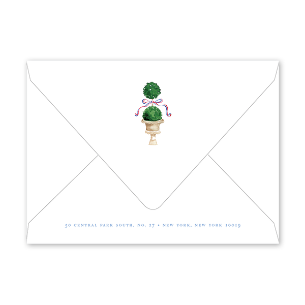 Parisian Picnic Birthday Fete Envelopes