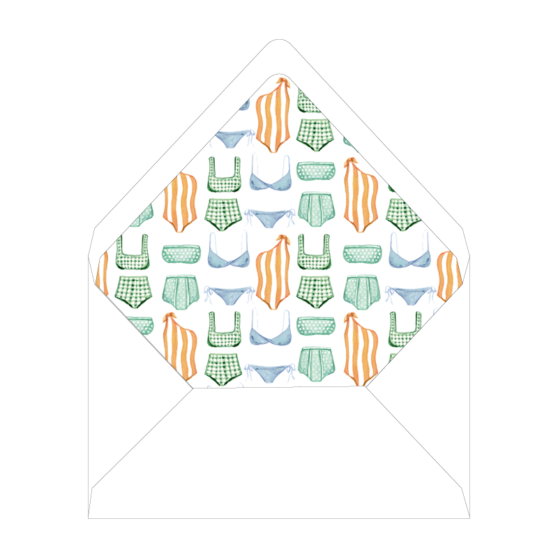 Somerset Folded Notecard Liner