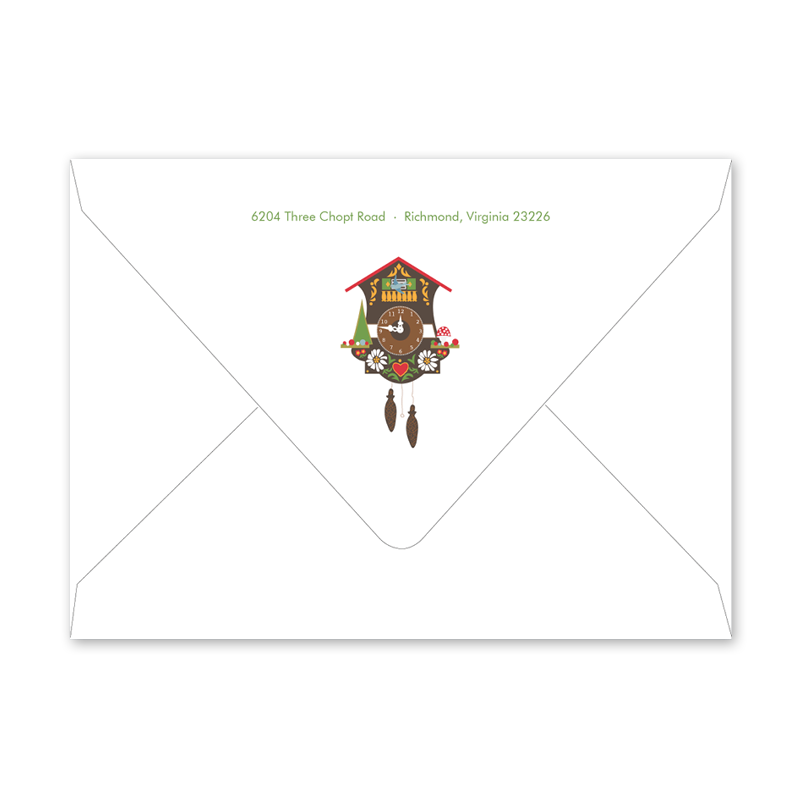 Bavarian Cuckoo Envelopes