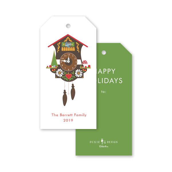 Bavarian Cuckoo Gift Tags