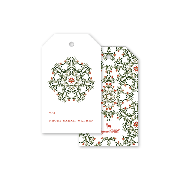 August Garden II Gift Tags