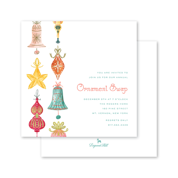 Bells and Baubles Invitation