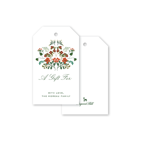 Cottage Blooms Gift Tags