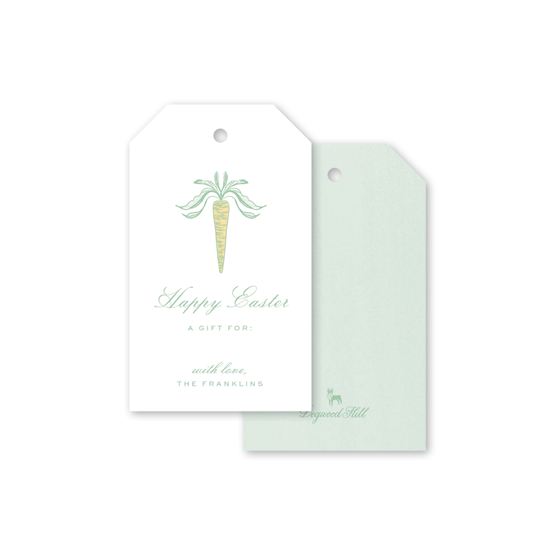 Easter Garden Green Gift Tags
