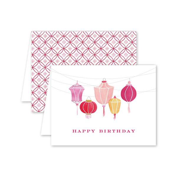 Kiku Bamboo Birthday Card