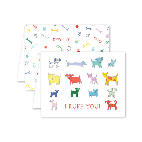 Puppy Party Love Card