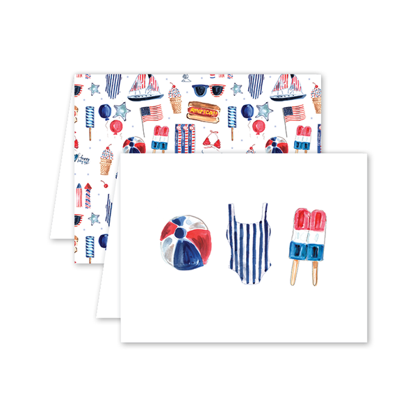 All American Summer Card