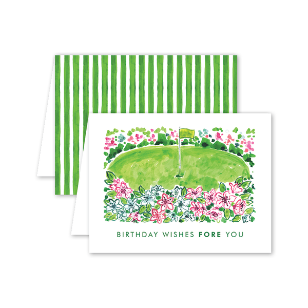Masters Birthday Card