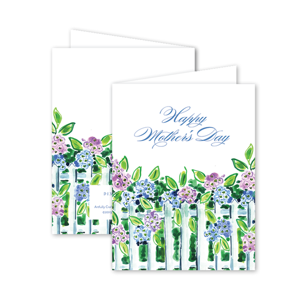 Nantucket Hydrangea Mother's Day Card